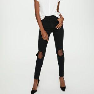 ✨ BNWT Levi's 721 Skinny Looker black 24 x 30